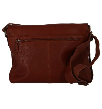 Via Borgo Ranger Zwarte Crossbody Tas in leer (235342)