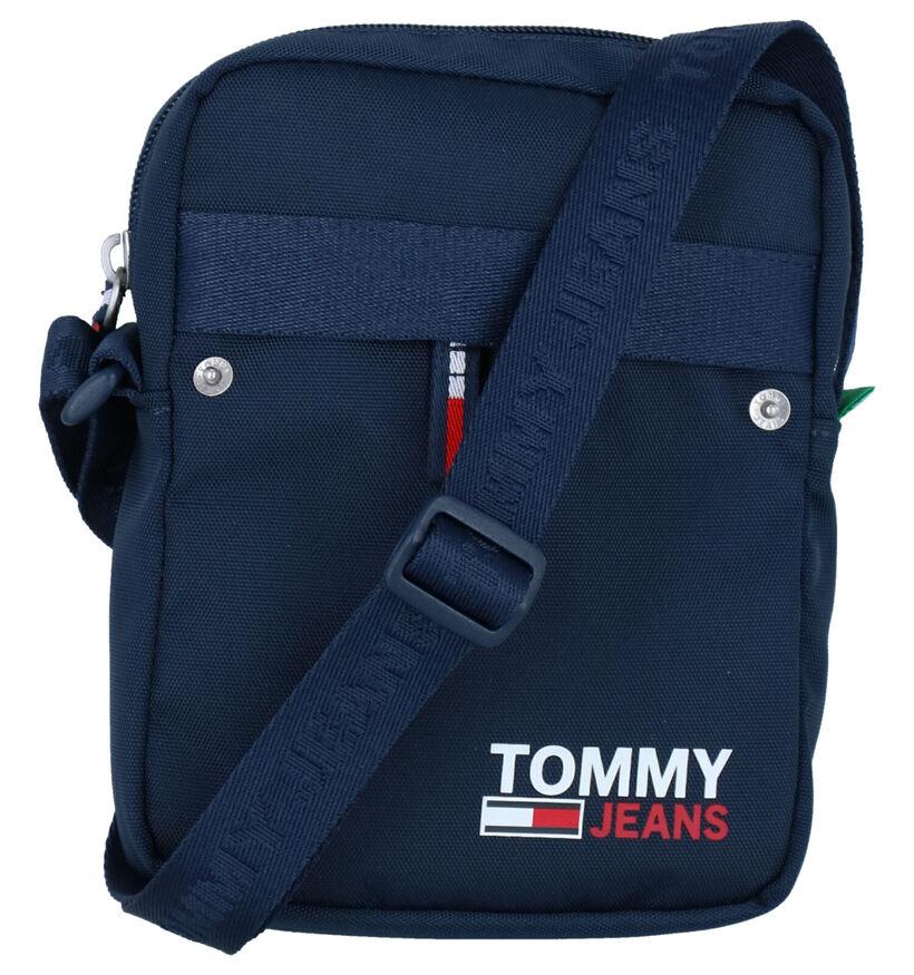 Tommy Hilfiger Campus Zwarte Crossbody Tas in stof (285656)