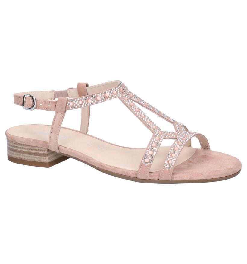 Gabor Roze Sandalen in nubuck (271740)