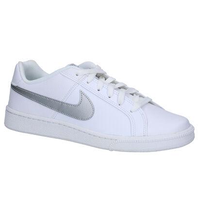 Nike Court Royale Witte Sneakers in kunstleer (261698)