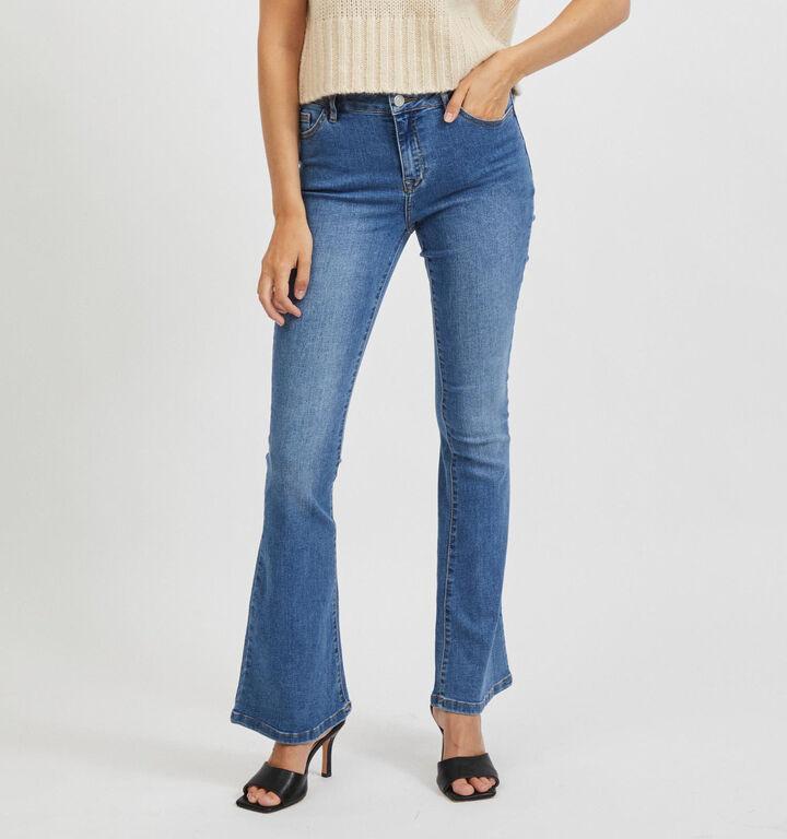 Vila Ekko Jeans en Bleu