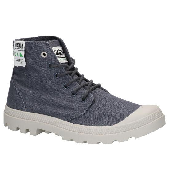 Palladium Pampa Grijze Boots