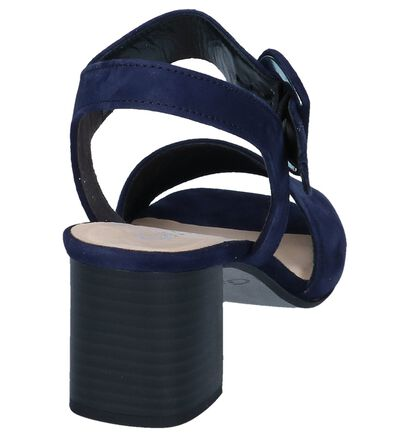 Donkerblauwe Sandalen Gabor in daim (245574)