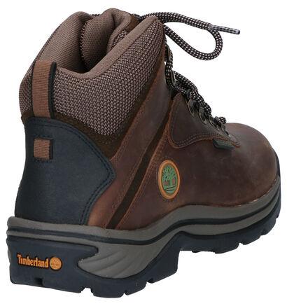 Timberland Chaussures de randonnée en Brun foncé en cuir (255365)
