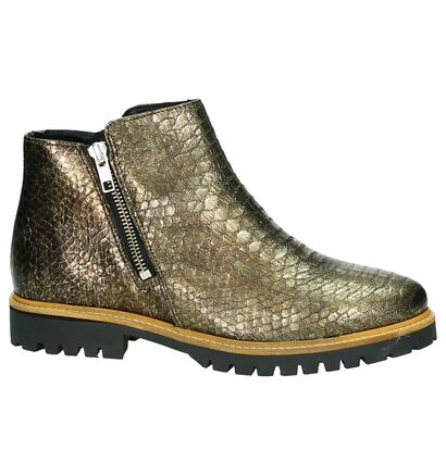 Tango Boots Brons met Slangenprint, Brons, pdp