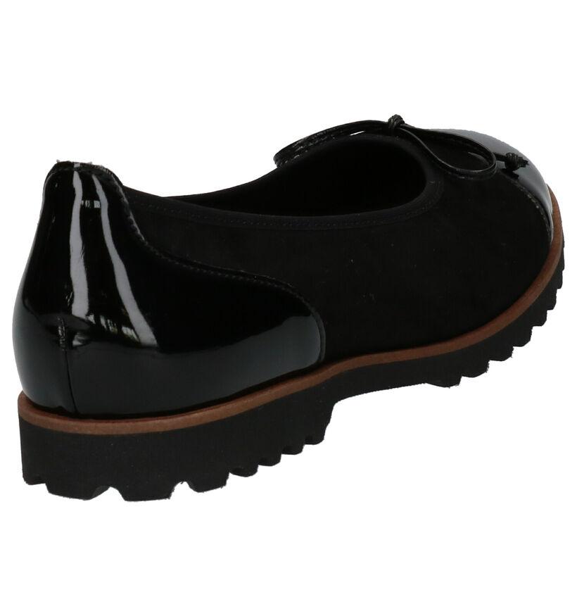 Gabor Ballerines en Noir en simili cuir (254015)