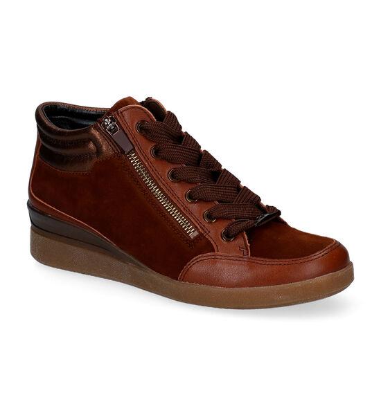Ara Lazio Cognac Sneakers