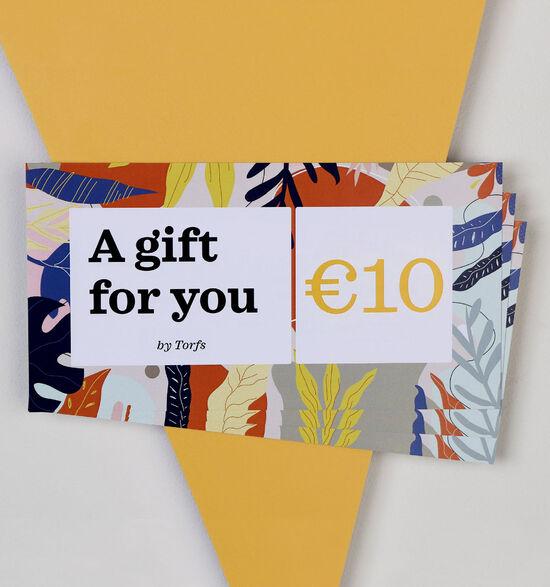 Carte cadeau de 10 euros