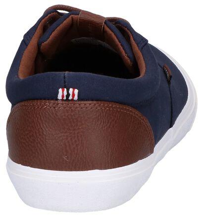 Jack & Jones Vision Mixed Blauwe Sneakers in kunstleer (269221)