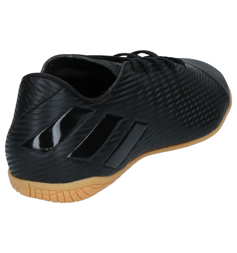 adidas Nemiziz 19.4 Blauw/Witte Sportschoenen in kunstleer (265402)