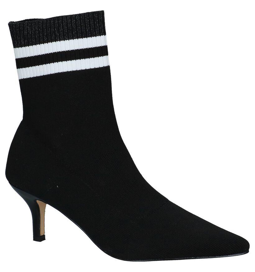 La Strada Bottes basses en Noir en textile (229891)
