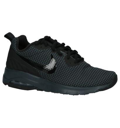 Nike Air Max Baskets basses en Noir en textile (205583)