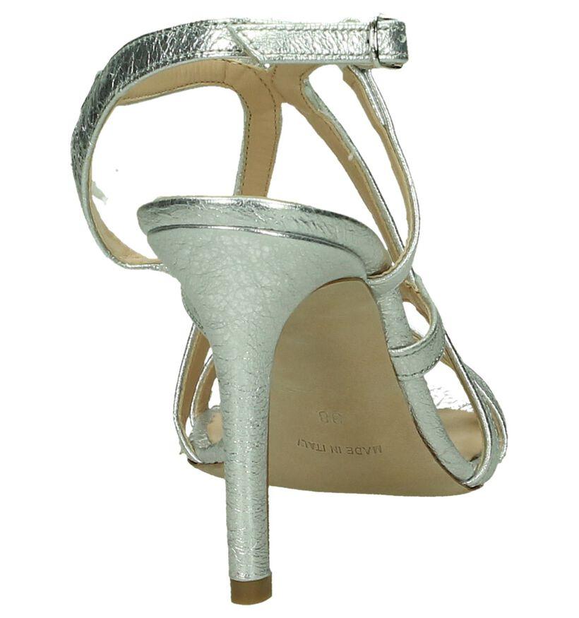 Les Autres Sandales à talons en Argent en cuir (197846)