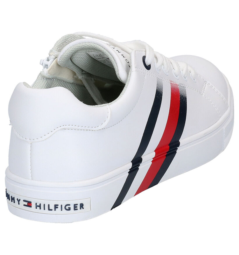 Tommy Hilfiger Chaussures basses en Blanc en simili cuir (266596)