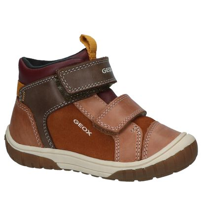 Geox Chaussures hautes en Cognac en cuir (223177)