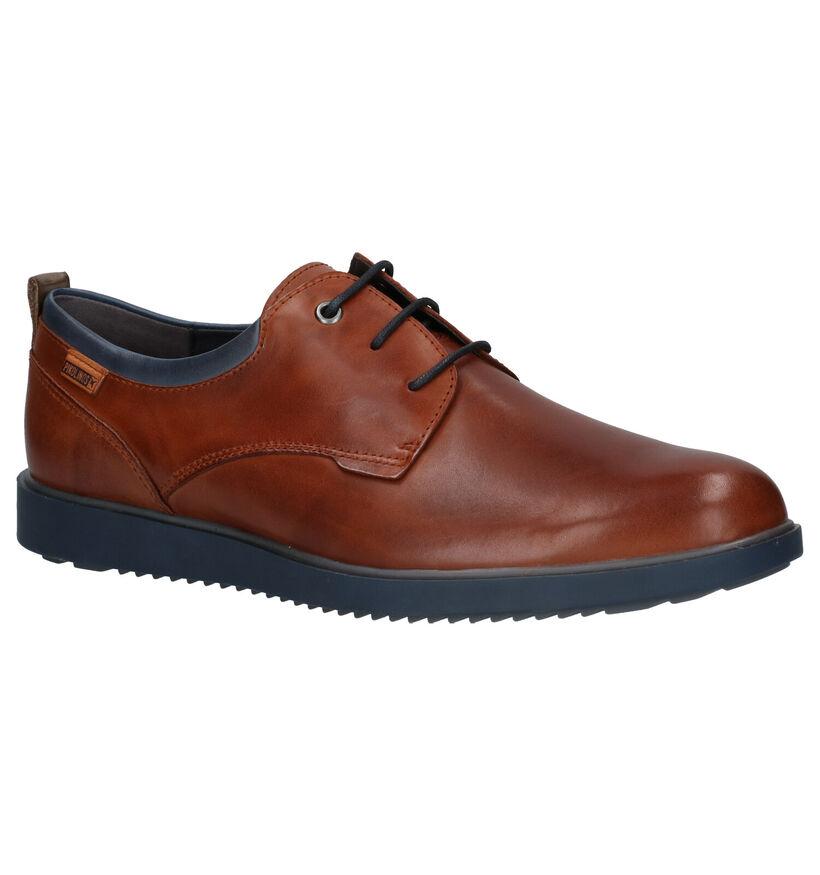 Pikolinos Corcega Chaussures Habillées en Cognac en cuir (261430)