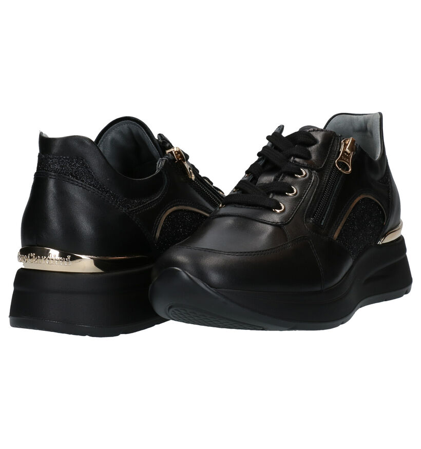 NeroGiardini Zwarte Sneakers in leer (281740)
