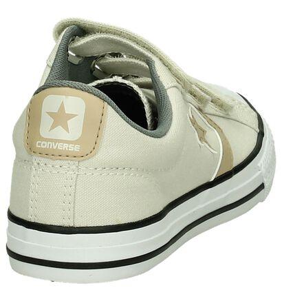 Zwarte Lage Sportieve Sneakers Converse Star Player, Beige, pdp