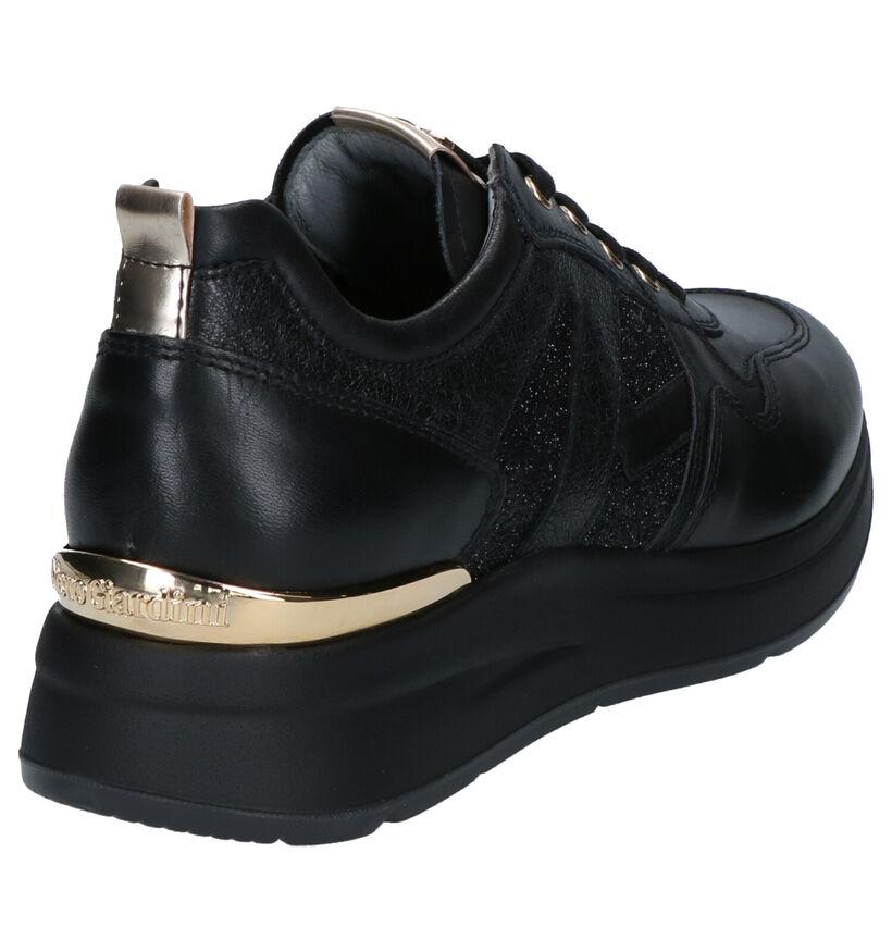 Nerogiardini Chaussures à lacets en Noir en cuir (262510)