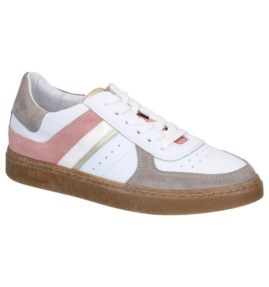 Hip Chaussures à lacets en Blanc