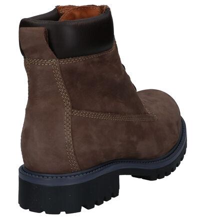 Dazzle Bruine Boots in nubuck (261850)