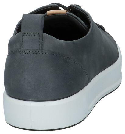 ECCO Soft 8 Chaussures basses en Gris foncé en cuir (221045)