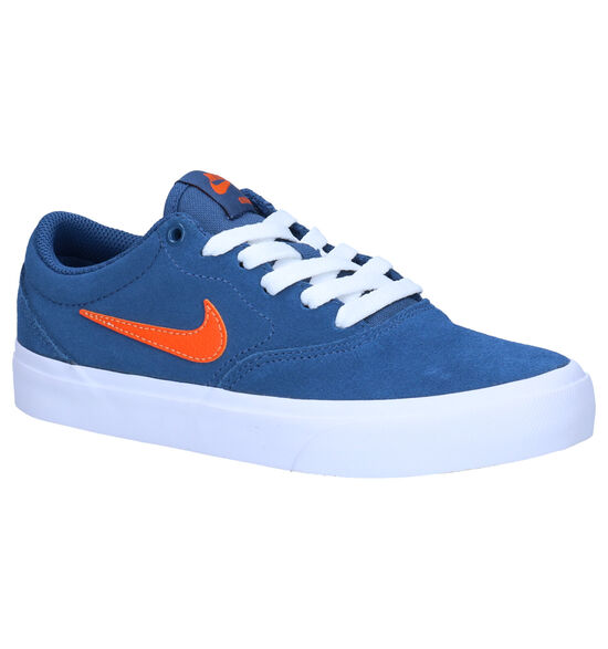 Nike SB Charge Baskets en Bleu