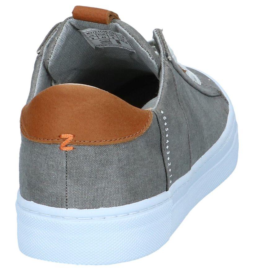 Hub Chaussures basses en Gris en textile (242660)