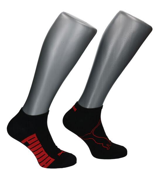 Puma Socquettes en Noir - 2 Paires