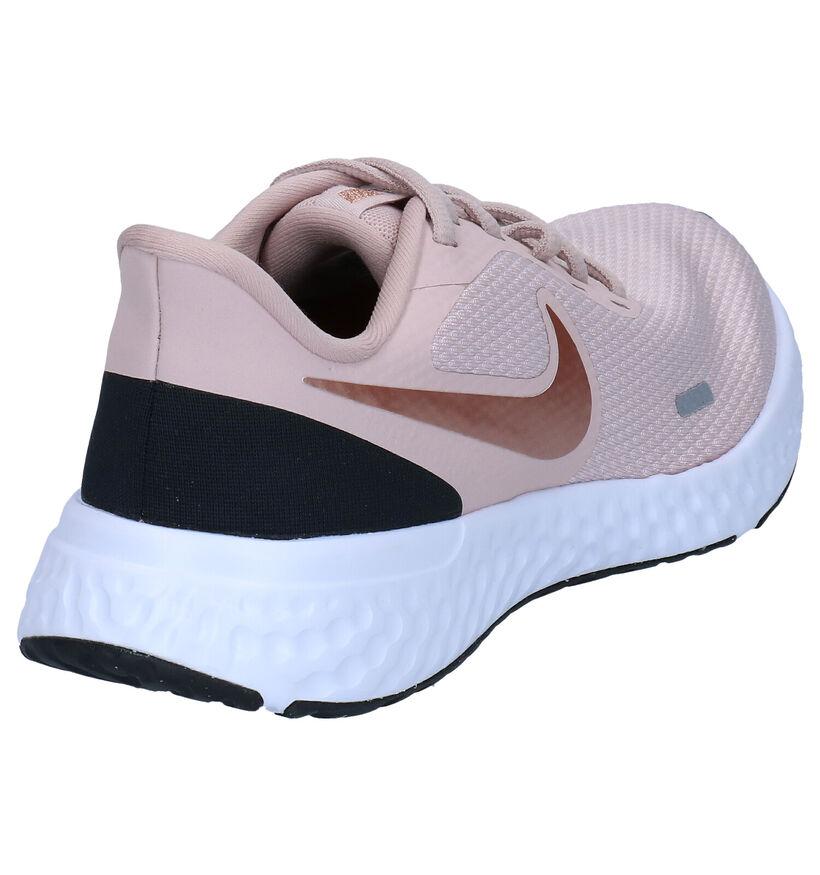 Nike Revolution Baskets en Blanc en textile (284557)