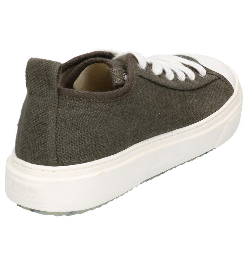 ZOURI Pyropia Grijze Sneakers in stof (275090)