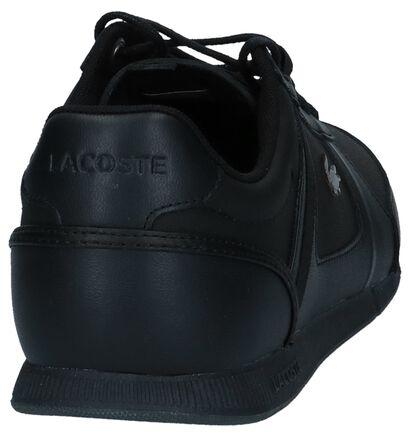 Lacoste Chaussures basses en Noir en cuir (222671)