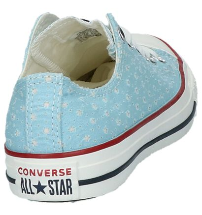 Zwarte Converse Chuck Taylor All Star Ox Sneakers in stof (238365)