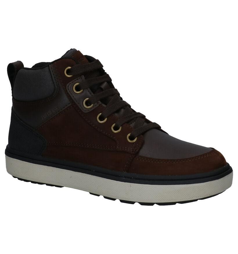 Geox Blauwe Sneakers in daim (273272)