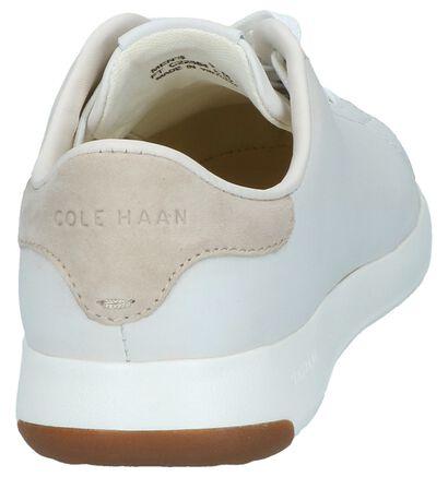 Witte Casual Veterschoenen Cole Haan Grandpro in leer (240409)