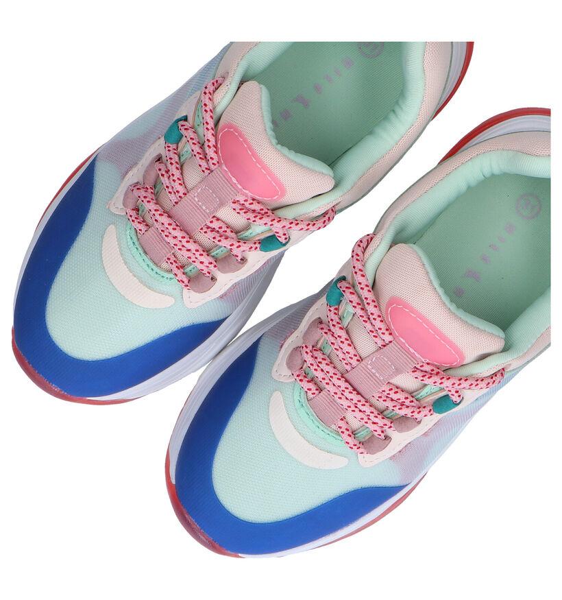 Milo & Mila Multicolor Sneakers in stof (289336)