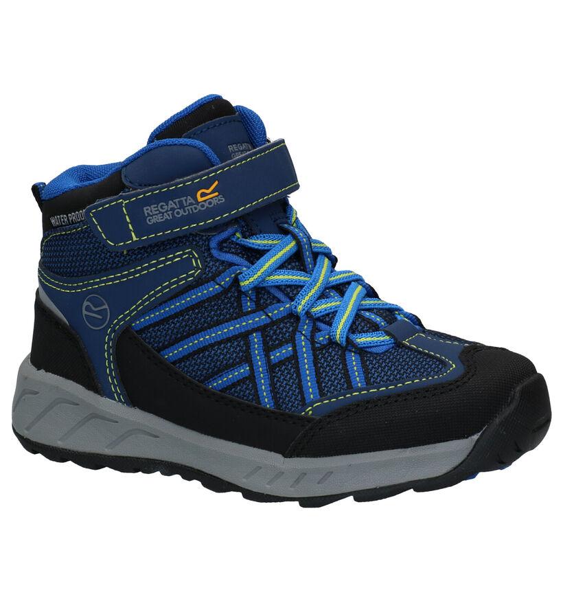 Regatta RKF 508 Chaussures de marche en Bleu en simili cuir (296069)