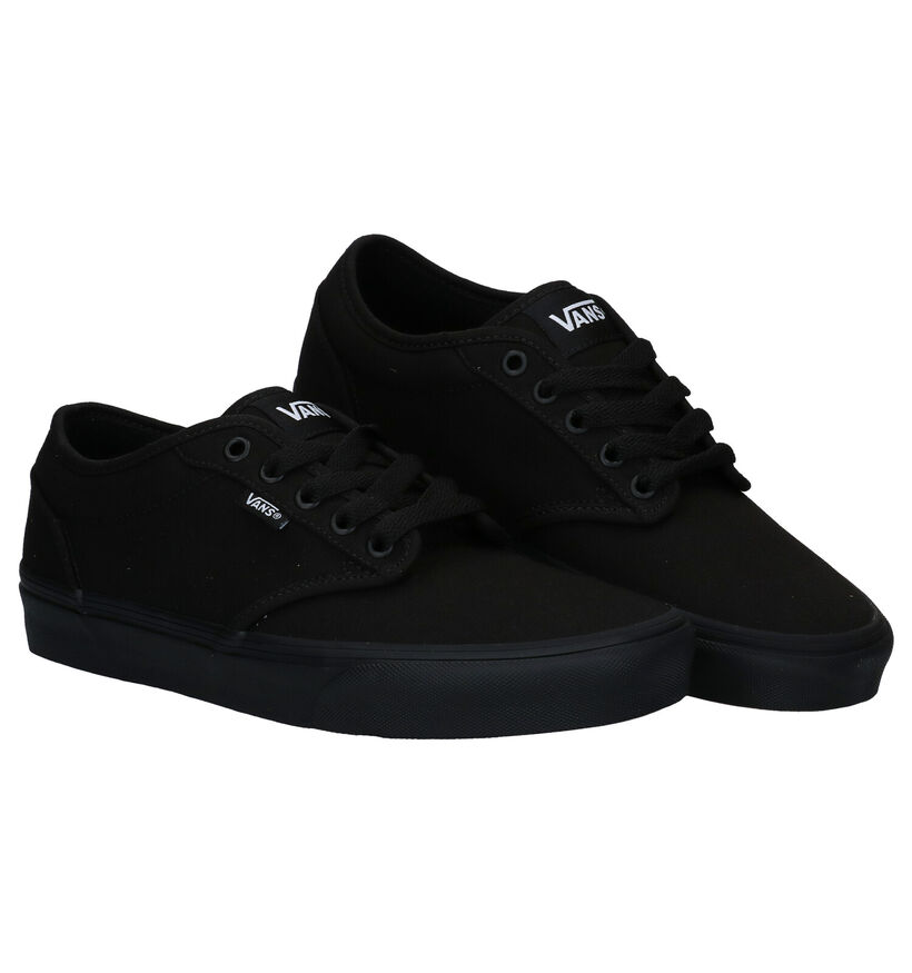 Vans Atwood Zwarte Sneakers in stof (287200)