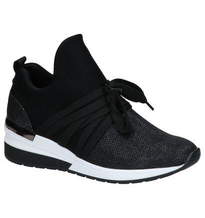 La Strada Zwarte Sneakers in stof (265981)
