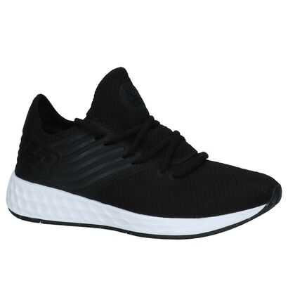 New Balance Baskets basses en Noir en textile (220618)