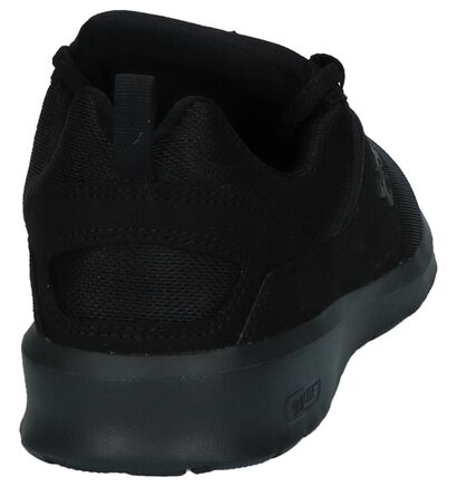 Zwarte Sneakers DC Shoes Heathrow in stof (240917)