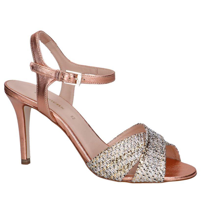 Carmens Sandales à talons en Or rose en cuir (254225)