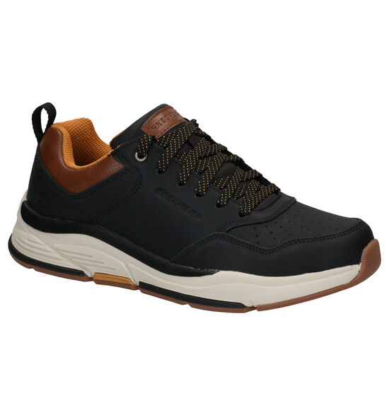 Skechers Relaxed Fit Baskets en Noir