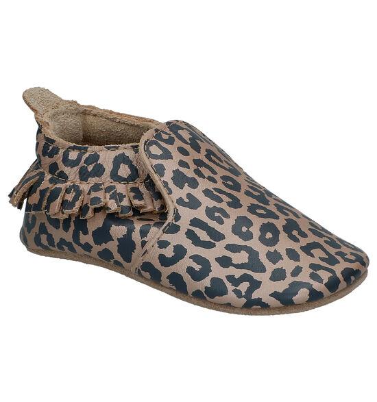 Bobux Leopard Gouden Parkschoentjes