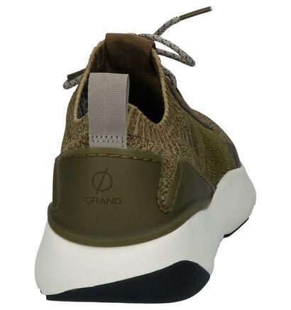 Kaki Sneakers Cole Haan Zerogrand in stof (240726)