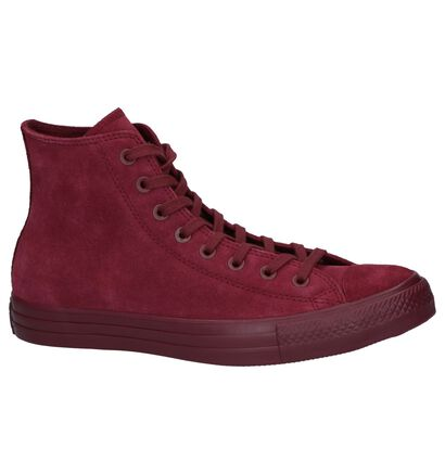 Bordeaux Sneakers Converse Chuck Taylor AS Classic in nubuck (236335)
