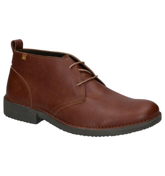 El Naturelista Yugen Vegan Cognac Boots