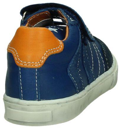 Little David Blauwe Schoen Velcro/Elastiek, Blauw, pdp