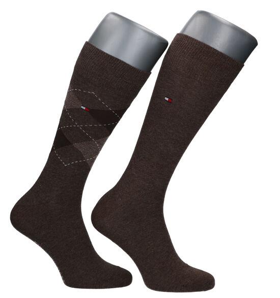 Tommy Hilfiger Bruine Sokken