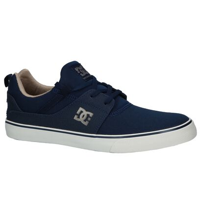 Slip-on Sneakers Donkerblauw DC Shoes Heathrow V TX in stof (210580)